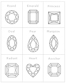 diamonds shapes